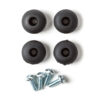 CRYBABY RUBBER FEET SET (4)