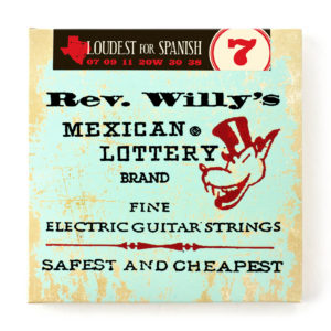 REV. WILLY'S MEXICAN LOTTERY BRAND