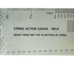 String Action Gauges