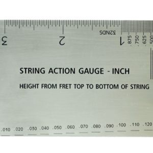 String Action Gauges
