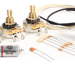 Deluxe Wiring Upgrade Kit - 5 Position Stratocaster