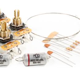 Deluxe Wiring Upgrade Kit – Short Bushing Les Paul