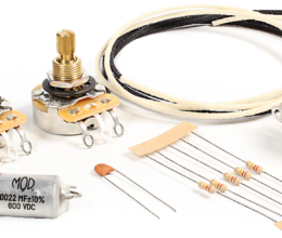 Deluxe Wiring Upgrade Kit - 3 Position PRS Style