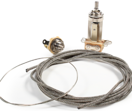 Deluxe Wiring Upgrade Kit - Les Paul Toggle Switch & Jack