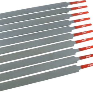 Gauged Nut Slotting File (Set)