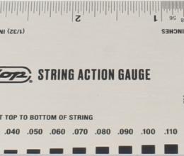 System 65 String Action Gauge