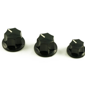 JAZZ BASS® KNOB SET (2 LG./1 SM.)
