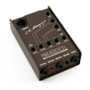 EXTERNAL PARAMETRIC 5-BAND EQ/DIRECT BOX