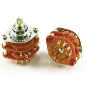 5 POSITION ROTARY SWITCH