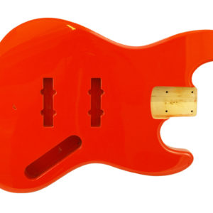 JAZZ BASS FIESTA RED