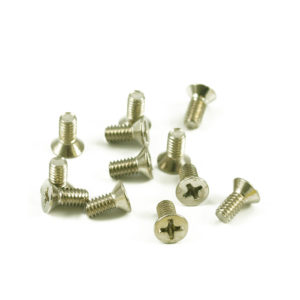 USA NICKEL VINTAGE BRIDGE BLOCK SCREWS