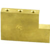 FAT BRASS L SHAPED SUSTAIN BLOCKS