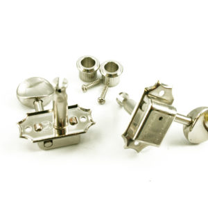 TRADITIONAL - 3+3 - OVAL METAL BTN