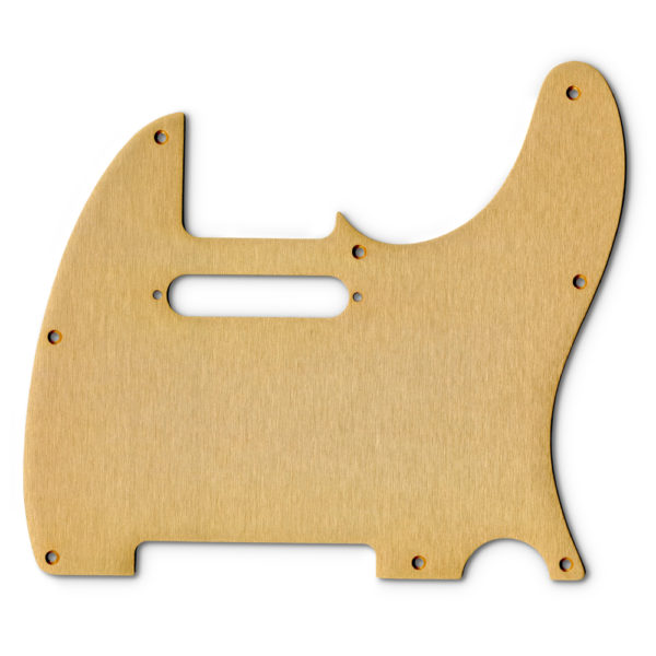 Replacement Anodized Aircraft Aluminum Pickguard For Fender Telecaster USA Or Made In Mexico