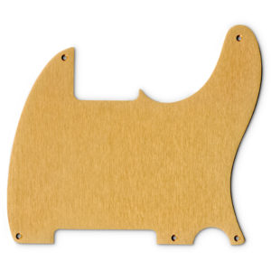 Replacement Anodized Aircraft Aluminum Pickguard For Fender Telecaster Esquire