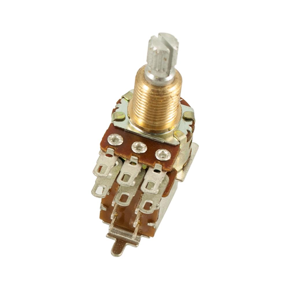 Bourns® Pro Audio - PDB183 Mini Guitar Potentiometer With Push-Pull Switch  ±20% Tolerance 500 kohm