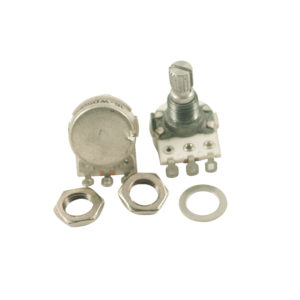 Metric Mini Potentiometer With Short Bushing 500 kohm