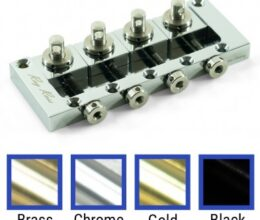 Saddle-Less 4 String Bass Bridge