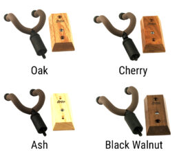 Wall Mount Hanger for Acoustic and Electric Guitars