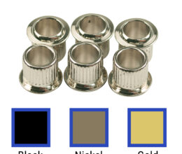 Replacement Tuning Machine Bushings For Vintage Fender® Guitars