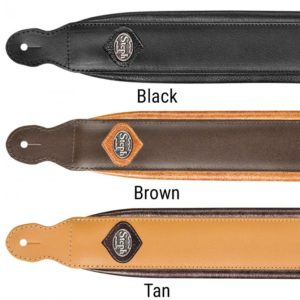 Padded Split Leather Handmade Straps