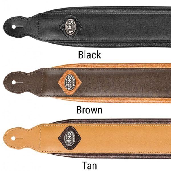 Padded Split Leather Handmade Straps