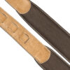 Padded Glazed Buffalo Leather Handmade Strap Fudge