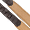 Padded Glazed Buffalo Leather Handmade Strap Mocha