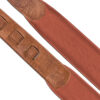 Padded Glazed Buffalo Leather Handmade Strap Ribbon