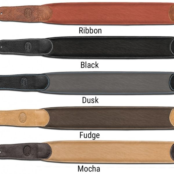 Padded Glazed Buffalo Leather Handmade Straps