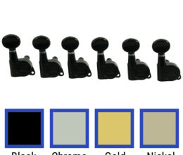 6 In Line Contemporary Diecast Series Tuning Machines