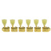 6 In Line Deluxe Series Tuning Machines For Gibson® Explorer® Gold