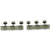 3 On A Plate Deluxe Series Tuning Machines For Lap Steel Guitar Nickel