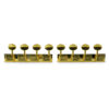 4 On A Plate Deluxe Series Tuning Machines For Lap Steel Guitar Gold