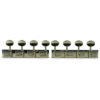 4 On A Plate Deluxe Series Tuning Machines For Lap Steel Guitar Nickel