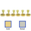 3 Per Side Locking Deluxe Series Tuning Machines