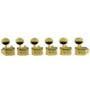 6 In Line Locking Deluxe Series Tuning Machines Gold