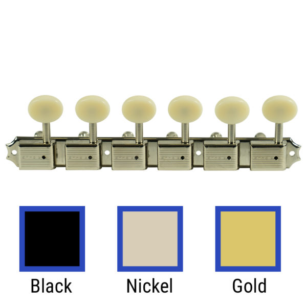 6 On A Plate Left Hand Deluxe Series Tuning Machines