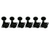 6 In Line Locking Revolution Series F-Mount Tuning Machines For Fender® Guitars Black