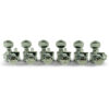 6 In Line Locking Revolution Series H-Mount Tuning Machines Chrome