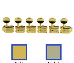 6 In Line Supreme Series Tuning Machines