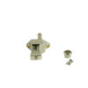 Vintage Diecast Series Firebird® Tuning Machines - Single Bass Side Machine Nickel
