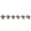 Vintage Diecast Series Firebird® Tuning Machines - 6 In Line Machine Chrome
