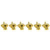 Vintage Diecast Series Firebird® Tuning Machines - 6 In Line Machine Gold