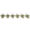 Vintage Diecast Series Firebird® Tuning Machines - 6 In Line Machine Nickel
