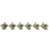 Vintage Diecast Series Firebird® Tuning Machines - 6 In Line Machine Nickel
