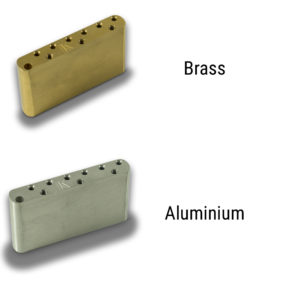 Milled Aluminum Or Brass Left Hand Sustain Block For Vintage Tremolos