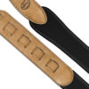 Neoprene Pad Strap with Leather Ends Tan