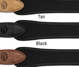 Neoprene Pad Strap with Leather Ends