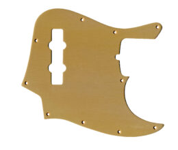 Replacement Anodized Aircraft Aluminum Pickguard For Fender Jazz Bass 4 String